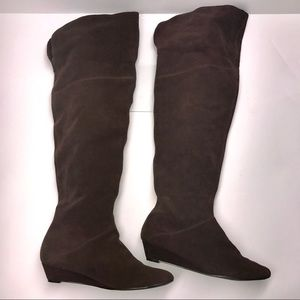 Steve Madden tall suede boots size 8 1/2